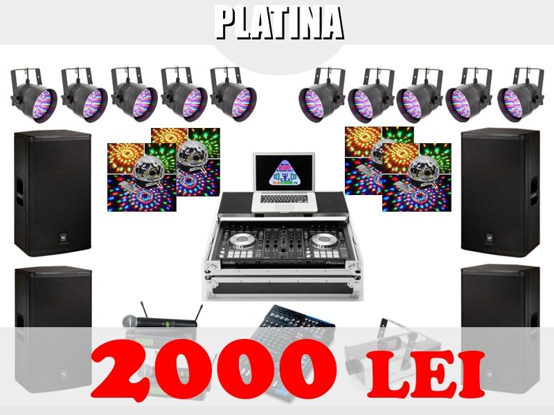 PACHET PLATINA - DJ NUNTA BUCURESTI