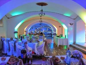 Iluminare arhitecturala la nunta
