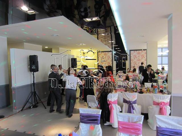 Sonorizare petrecere de cununie cu DJlaPetrecere.ro - Restaurant Margineni