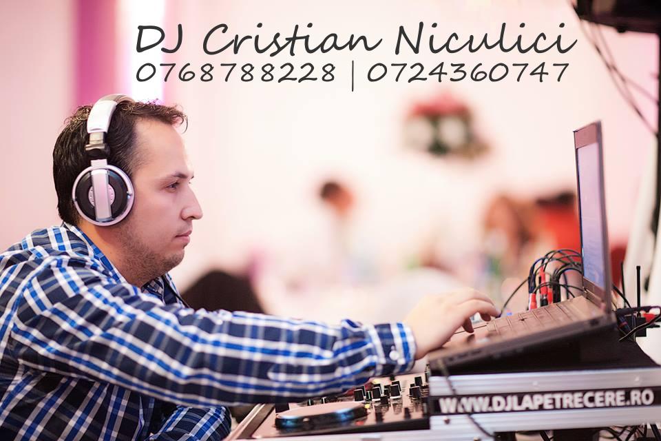 DJ MC Cristian Niculici side