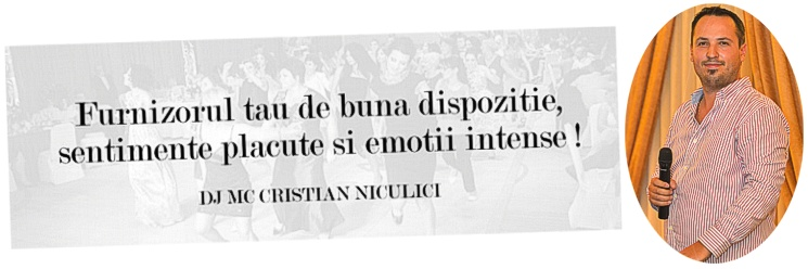 DJ MC CRISTIAN NICULICI - 0768788228 - 0724360747